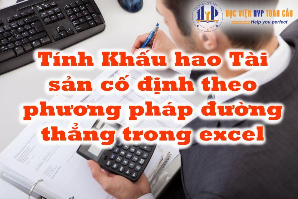 Cách Tính Khấu Hao Tài Sản Cố định Trên Excel