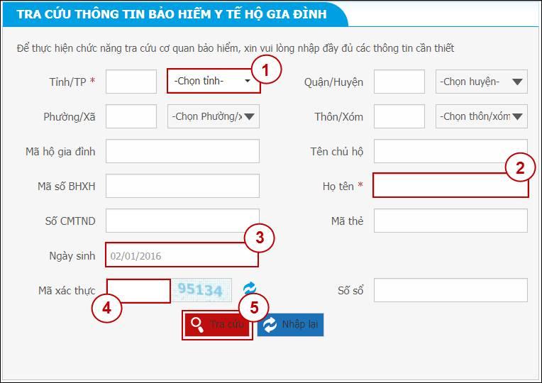 Tra cứu mã số BHXH - số sổ bảo hiểm qua mạng