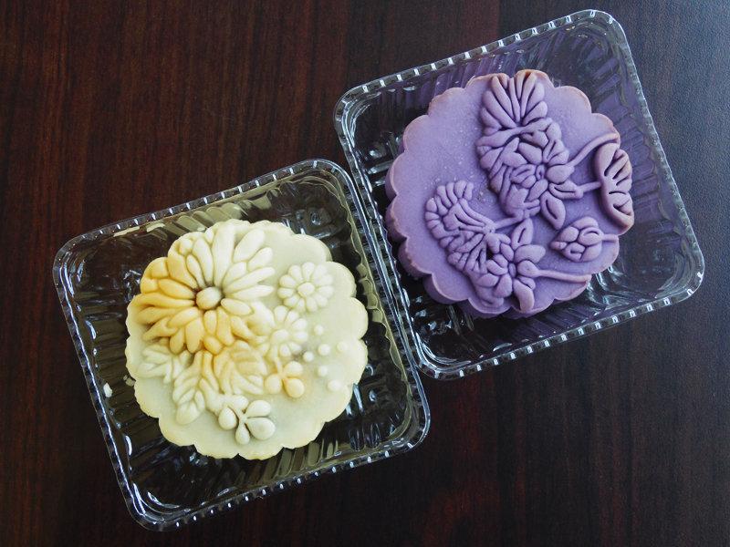 Bánh trung thu vỏ khoai tím thơm ngon dẻo ngọt