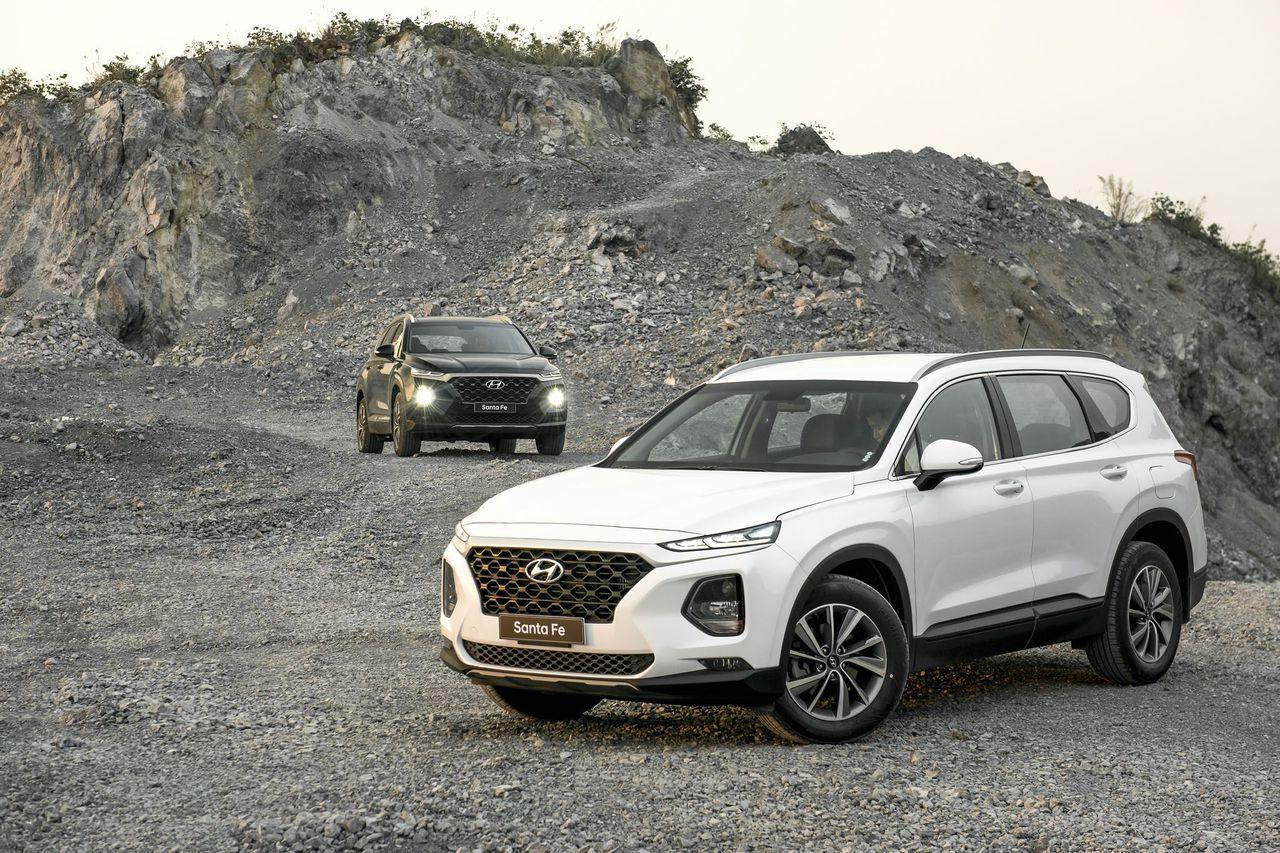 Đánh giá sơ bộ xe Hyundai Santa Fe 2019