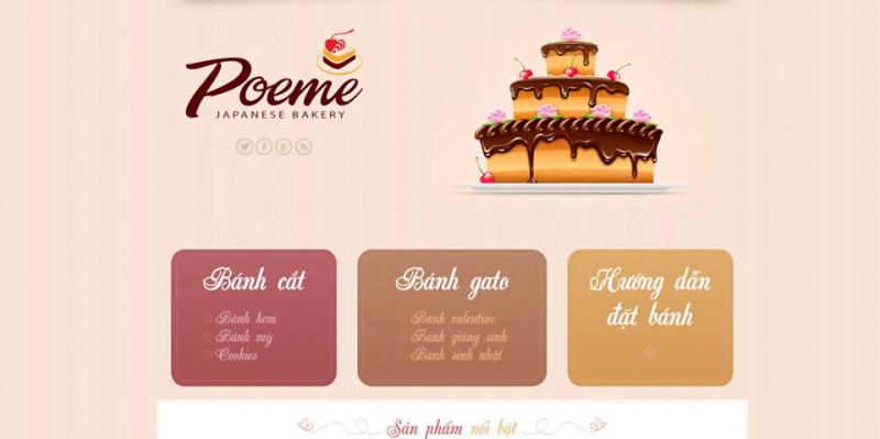Tiệm bánh Gato Poeme