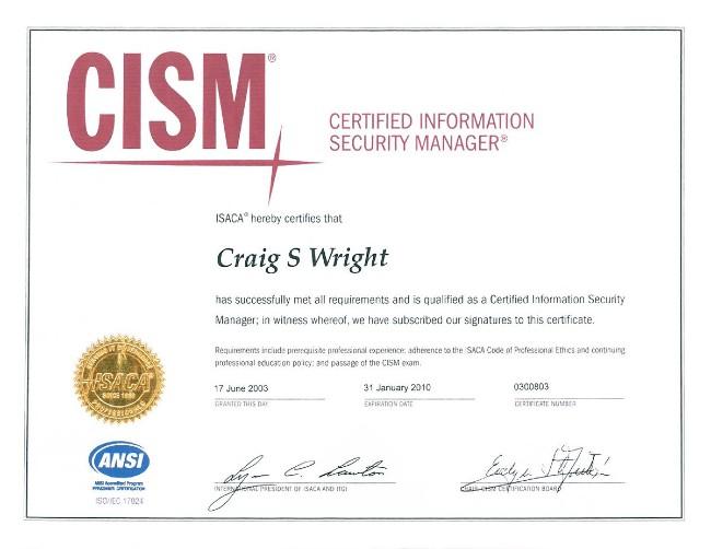 Để đủ điều kiện thi chứng chỉ CISM bạn cần ít nhất 5 năm kinh nghiệm làm việc trong ngành bảo mật