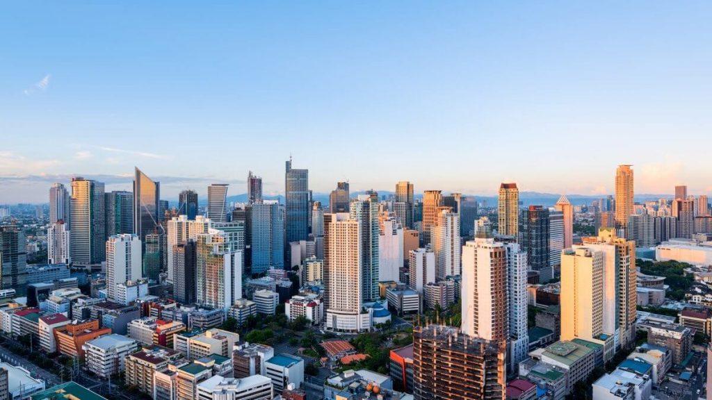 Toàn cảnh thủ đô Manila - Philippines