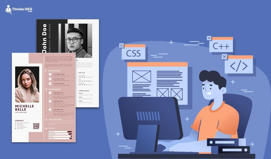 Lợi ích khi tạo CV xin việc IT tại timviec365.com