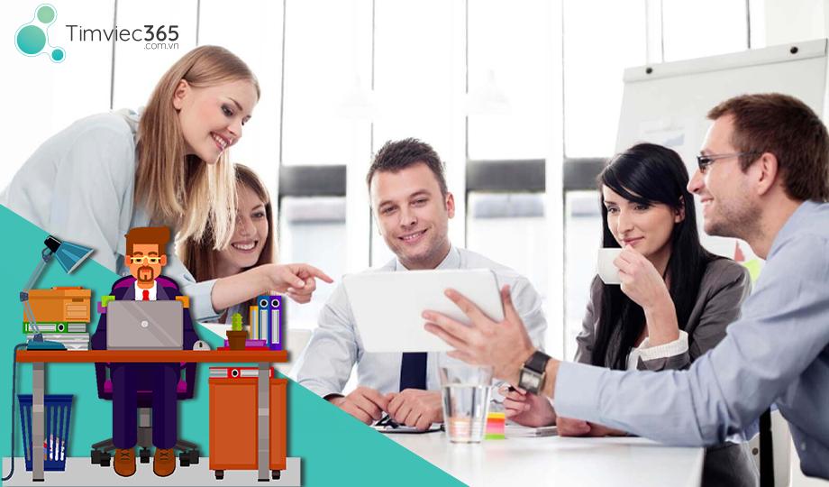 Thỏa sức với cơ hội việc làm quản lý và mẫu CV đẹp tại timviec365.com.vn